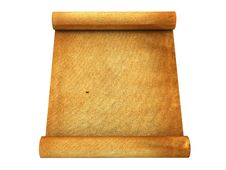 Free Vintage Roll Of Parchment Background Stock Photos - 21166423
