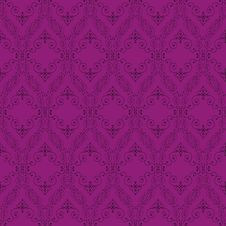 Free Seamless Abstract Purple Orient Pattern Royalty Free Stock Image - 21166586