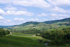 Free Rural Summer Landscape Stock Image - 21166981