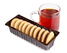 Free Biscuits And Tea Royalty Free Stock Image - 21167086