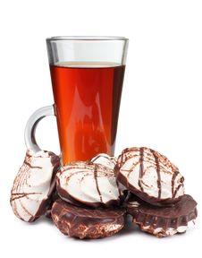 Cookie And Tea Stock Photo