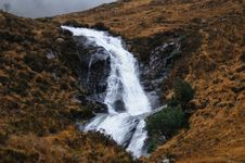 Free Waterfall In The Scottish Highlands. Royalty Free Stock Photo - 21167635