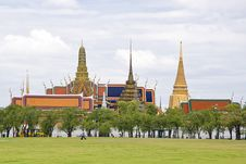 Free Wat Phra Kaew Royalty Free Stock Photography - 21168177