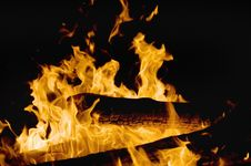 Free Flames Royalty Free Stock Photography - 21168317