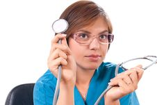 Free Medical Doctor Portrait Stock Image - 21168331