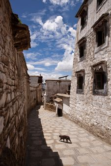 Sera Monastery In Lhasa Stock Photo