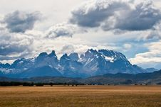 Free Landscape Of Cuernos Del Paine Mountains Royalty Free Stock Images - 21169239