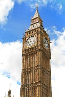 Free The Big Ben Clock In London Stock Image - 21169431