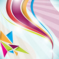 Free Colorful Abstract Wave Stock Photography - 21170972