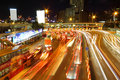 Free Traffic Jam In Hong Kong Outside The Tunnel Royalty Free Stock Photos - 21171458