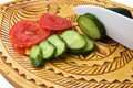 Free Tomatoes And Cucumber Stock Photography - 21175652