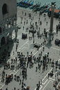 Free St Mark S Square And Doge S Palace From Above Royalty Free Stock Images - 21176209