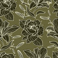 Free Vector Seamless Floral Pattern Royalty Free Stock Photos - 21176438