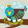 Free Bird On Nest Stock Photos - 21177683
