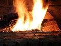 Free Burning Wood Stock Photo - 21179230