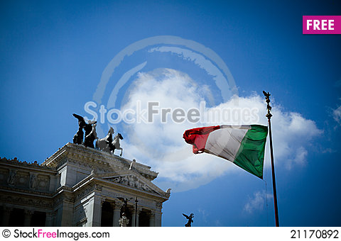 Free Unknown Soldier Memorial In Rome, Italy. Stock Photography - 21170892
