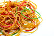Rubber Bands Royalty Free Stock Photos