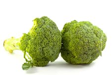 Free Fresh Raw Broccoli Stock Photography - 21170462