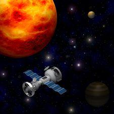 Free Artificial Satellite Stock Photos - 21170563
