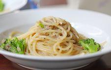 Free Tuna Fish With Spaghetti Stock Photos - 21171293
