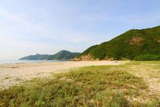 Free Ham Tin Wan Beach In Hong Kong Royalty Free Stock Photos - 21171398