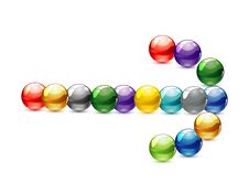 Free Glass Technology Colored Circles Symbol Stock Photography - 21172022