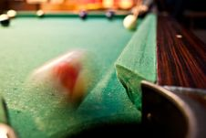 Free Billiard Shot Royalty Free Stock Photography - 21173047