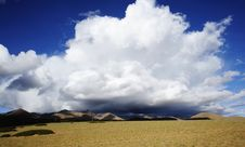 Free Clouds In Qinghai-Tibet Plateau Royalty Free Stock Image - 21173176