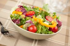 Free Healthy Vegetables Salad Stock Images - 21173334