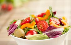 Free Green Salad Stock Photos - 21173343