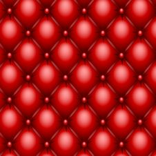 Free Red Upholstery Texture Stock Images - 21173644