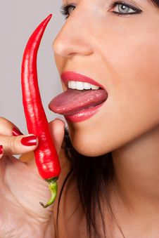 Free Chili Pepper Stock Images - 21174334