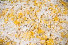 Free Sweet Corn And Coconut - Thai Dessert Royalty Free Stock Photos - 21174418