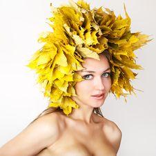 Free Autumn Women. Royalty Free Stock Photography - 21174447