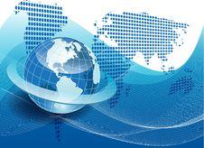 Free Texture Globe Stock Photo - 21174530