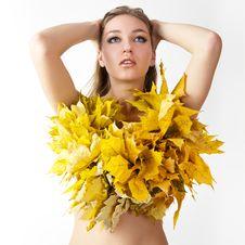 Free Autumn Women. Stock Image - 21174531