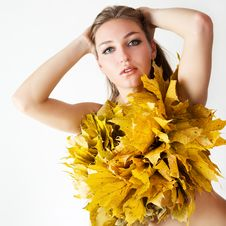 Free Autumn Women. Stock Photography - 21174572