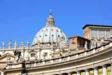 Free Saint Peter S Cathedral In Rome Stock Photos - 21174813