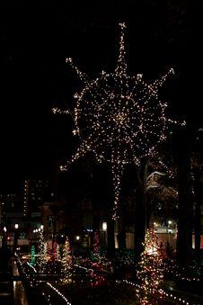 Free Christmas Lights Stock Photo - 21175640
