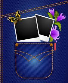 Free Jean Pockets Royalty Free Stock Photo - 21175985