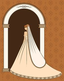 Free Illustration Of Beautiful Bride Royalty Free Stock Photos - 21176038