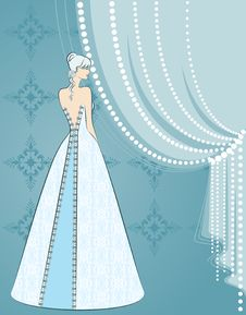Free Illustration Of Beautiful Bride Royalty Free Stock Photography - 21176127
