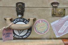 Free Vintage Suitcase Stock Photos - 21176163