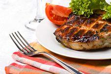 Grilled Pork Meat