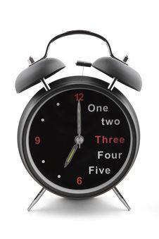 Free Alarm Clock Stock Image - 21177611