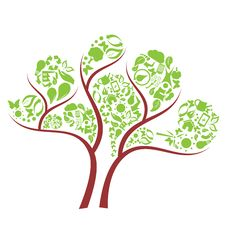 Free Green Eco Tree Stock Images - 21178274