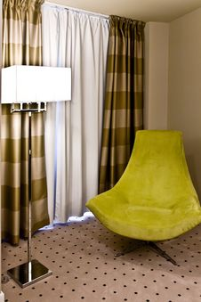 Free Lamp With Armchair Royalty Free Stock Photos - 21178438