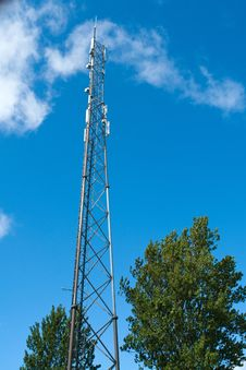 Free Telecommunication Communication Antenna Tower Mast Stock Images - 21178624
