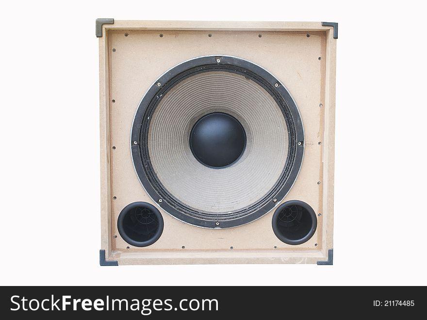 Wood loudspeaker