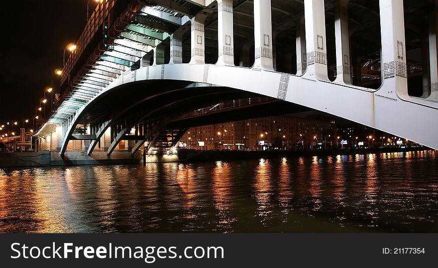 Moscow River, Andreyevsky Bridge